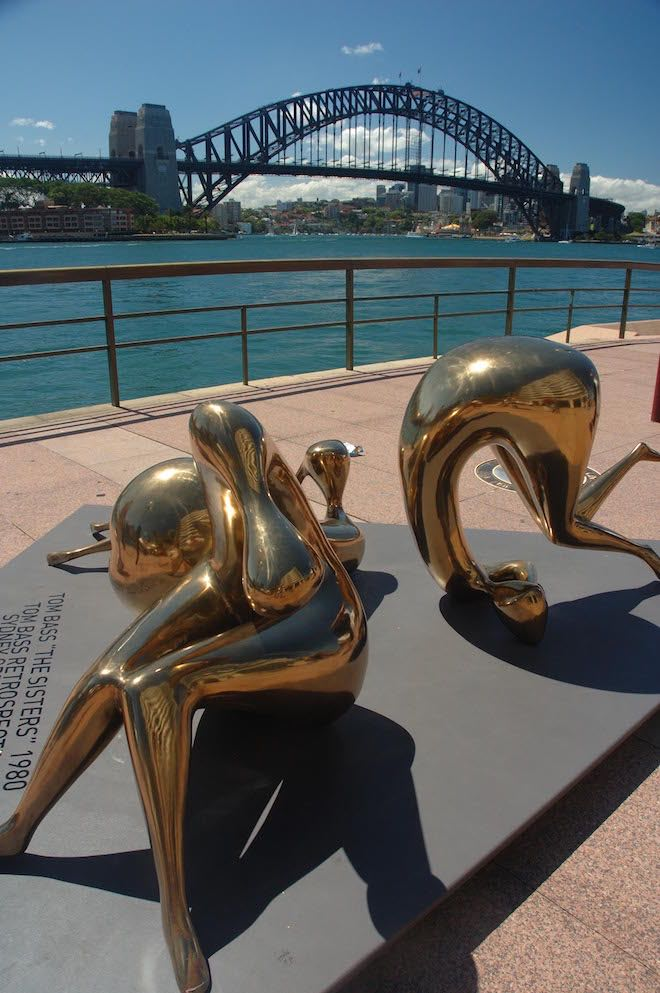 Statues in Circular Quay - Image Andrew Marshall