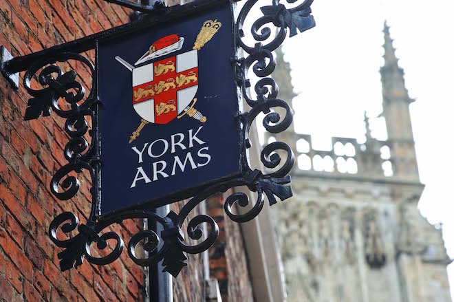 York is blessed with historic characterful inns like the York Arms near the Minster - Image credit Paul Marshall