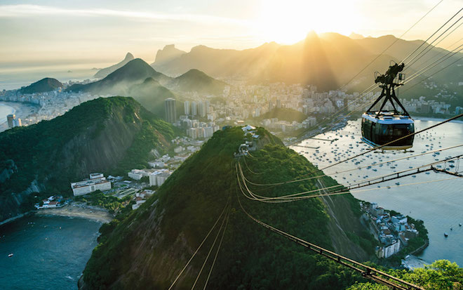 Scenes of Brazil - Image courtesy Scenic.
