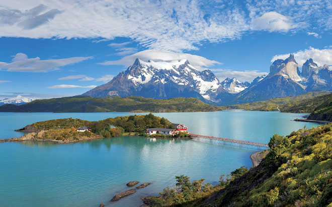 Stunning scenery of Chile - Image courtesy Scenic.