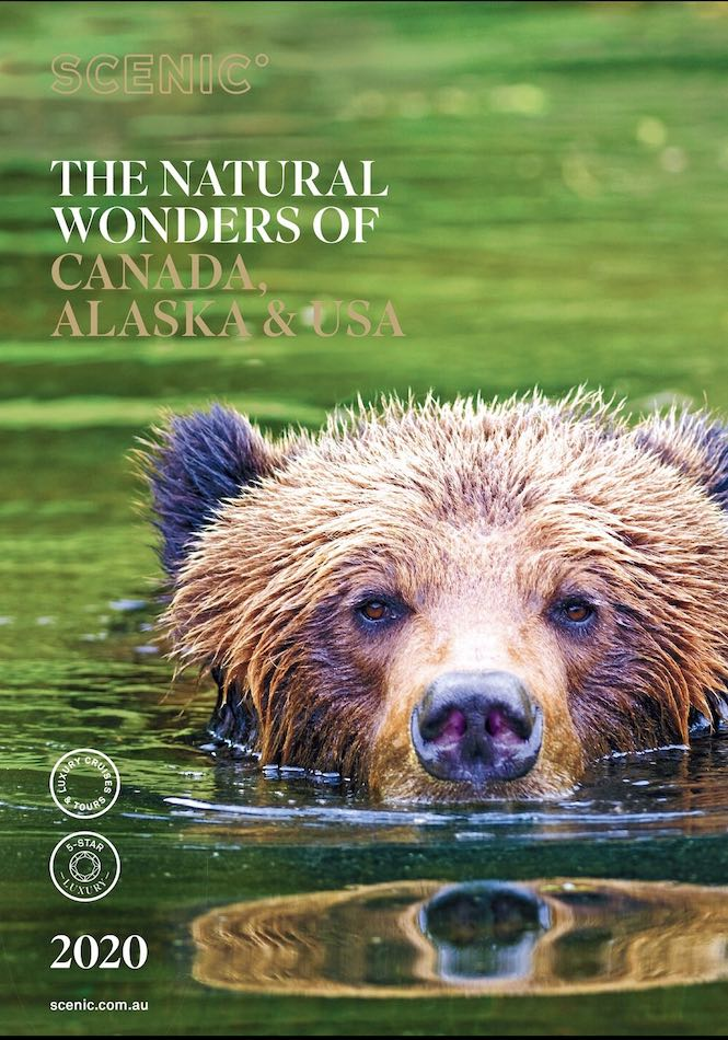 Scenic's Canada brochure 2020