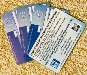 European Health Insurance Card – EHIC