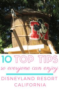 10 Top Tips so EVERYONE Can Enjoy Disneyland Resort California