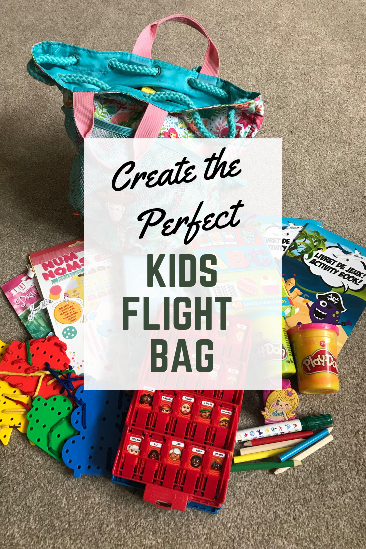 Create the Perfect Kids Flight Bag