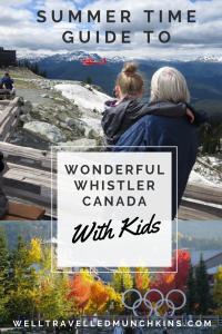 Wonderful Whistler – Summer Time Guide