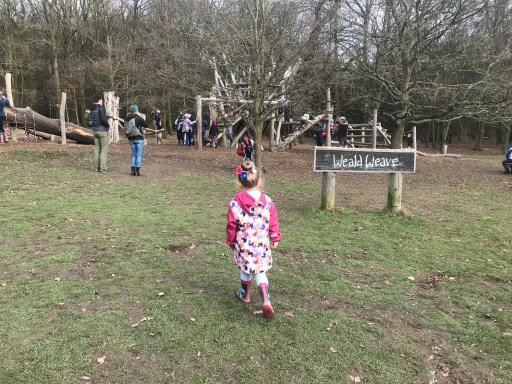 Climbing, cargo nets, slides and more at Weald Weave