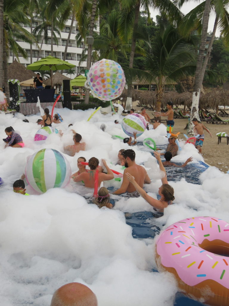 Foam party fun for all ages