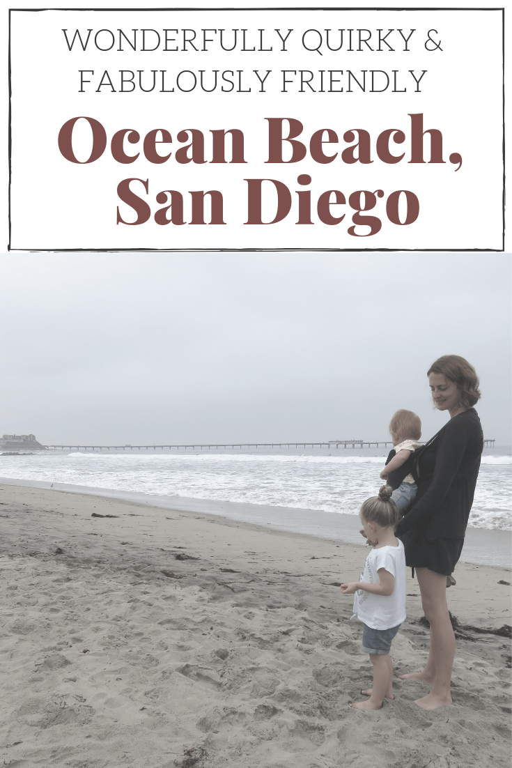 Ocean Beach, San Diego with Kids