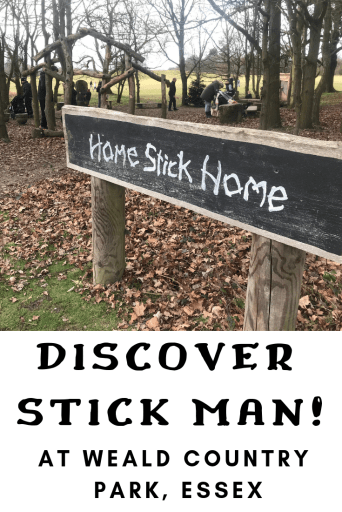 Stick Man at Weal Country Park