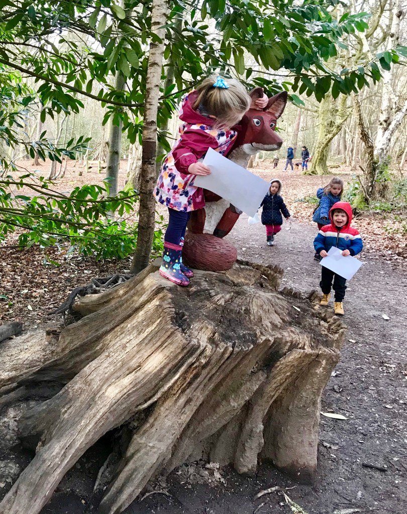 Finding the fox on the Gruffalo Trail