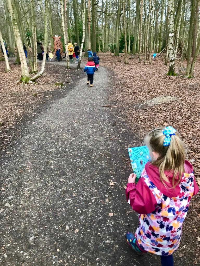 Map reading to find the Gruffalo