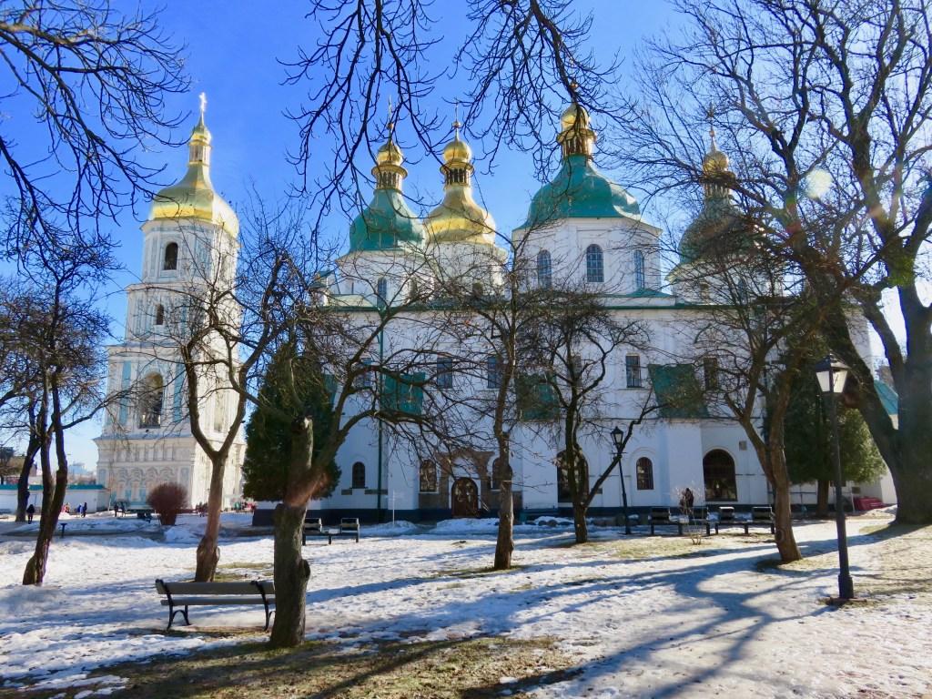 St Sophia - Kiev's churches