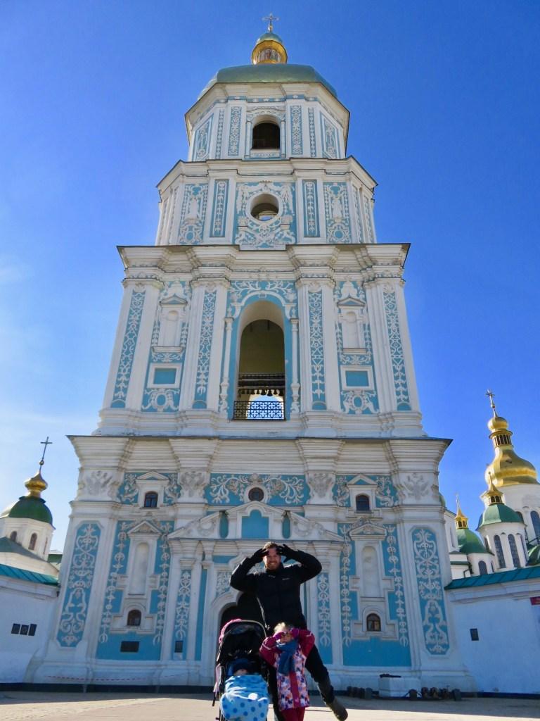 St Sophia's Bell Tower - Kiev's churches