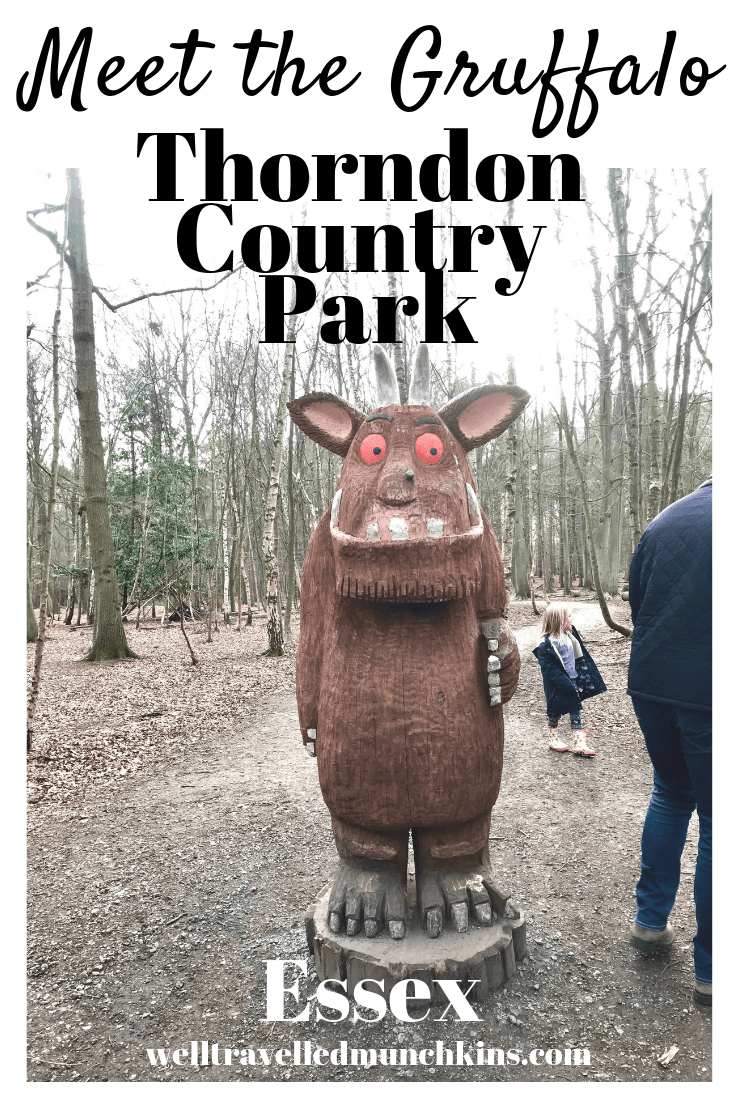 The Gruffalo Trail at Thorndon Country Park