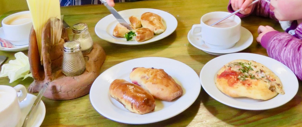 Pastries on offer at Yaroslava