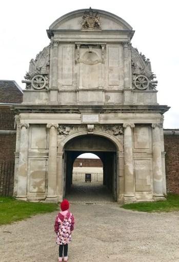 Tilbury Fort entrance