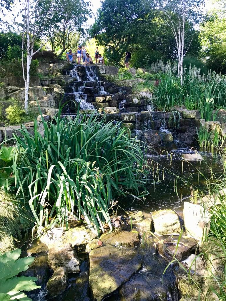 The Japanese Island Garden - regent's park with kids