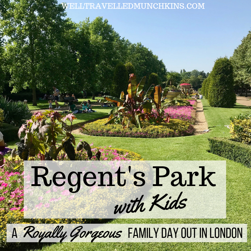 Regent's Park with Kids – A Great Family Day Out in London