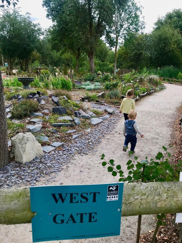 West Gate gardens