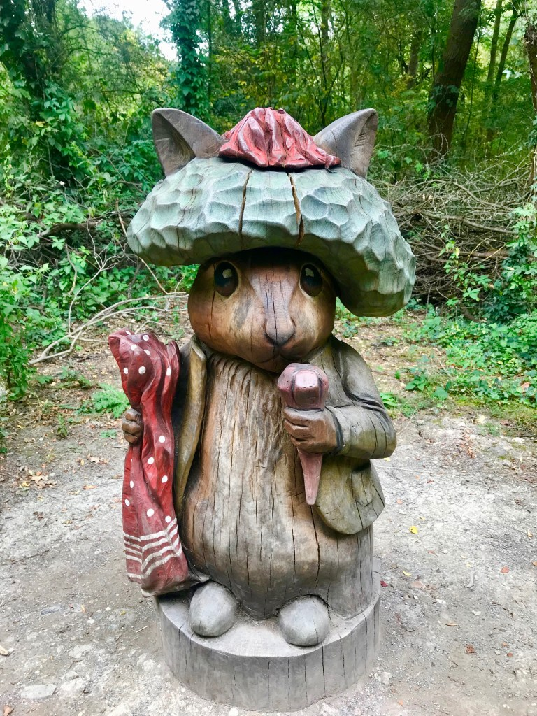 Benjamin Bunny on the Peter Rabbit trail