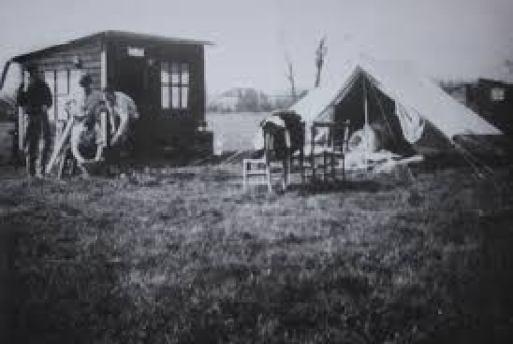 The Plotlands trail - historic photo