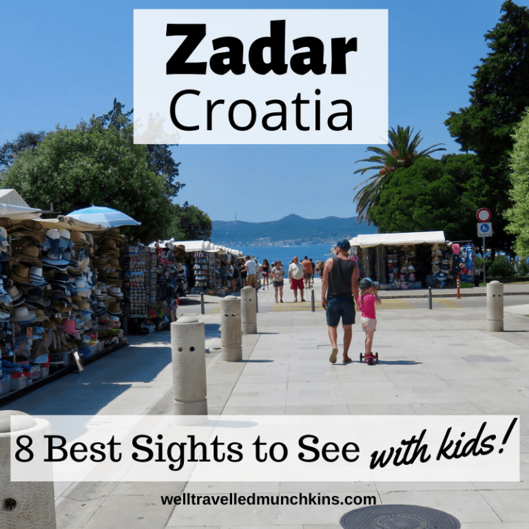 8 Top Sights to See in Zadar with Kids