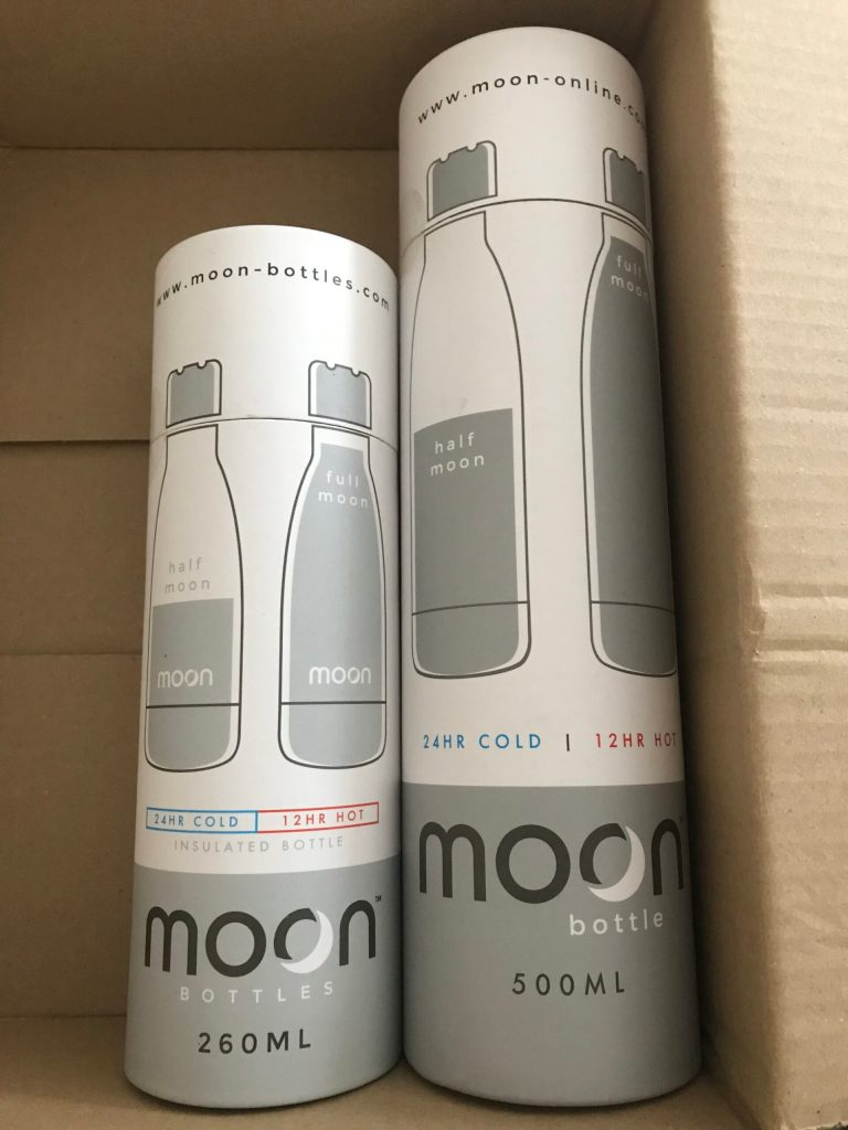 First impression of Moon Bottles