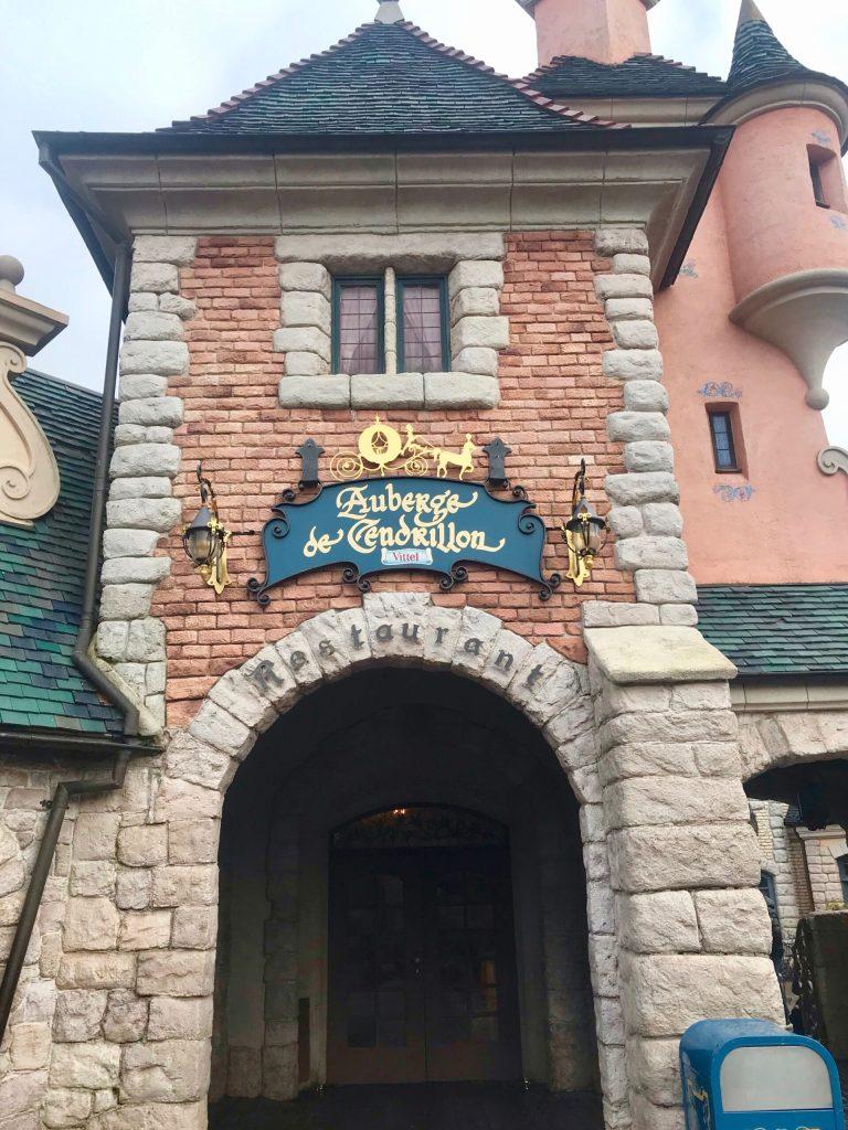 The Princess Breakfast at Disneyland Paris is located at Auberge de Cendrillon