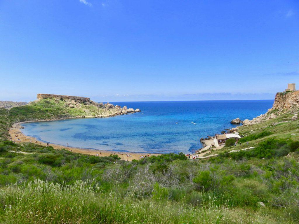 Riviera Beach Malta with Kids