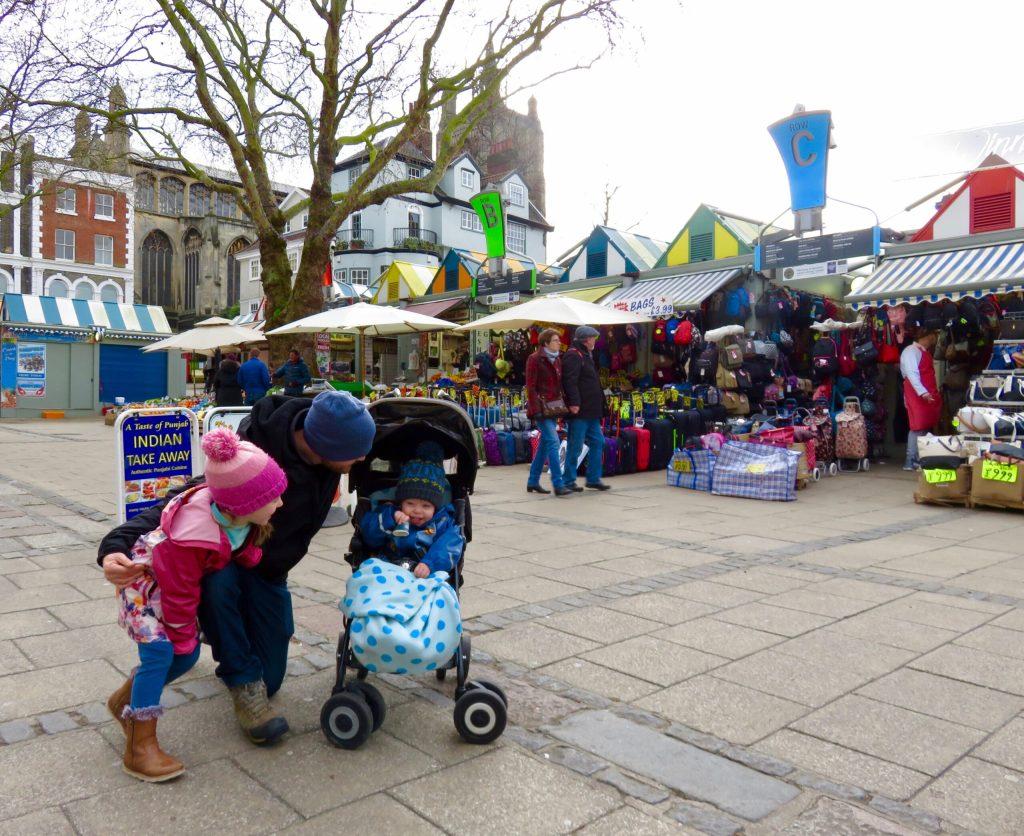 Norwich with Kids - Norwich Market