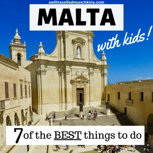 7 of the Best Things to do in Malta with Kids