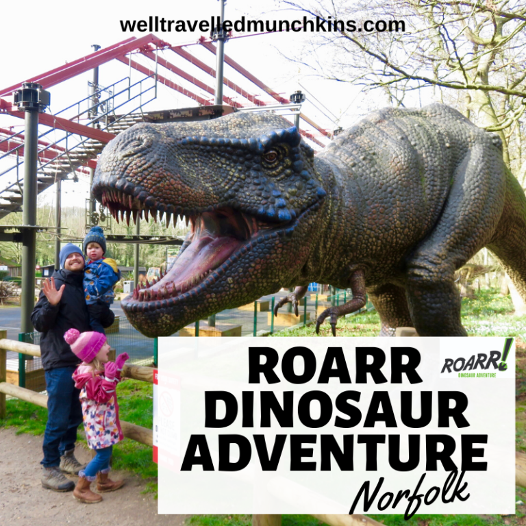 Roarr Dinosaur Adventure Park in Norfolk