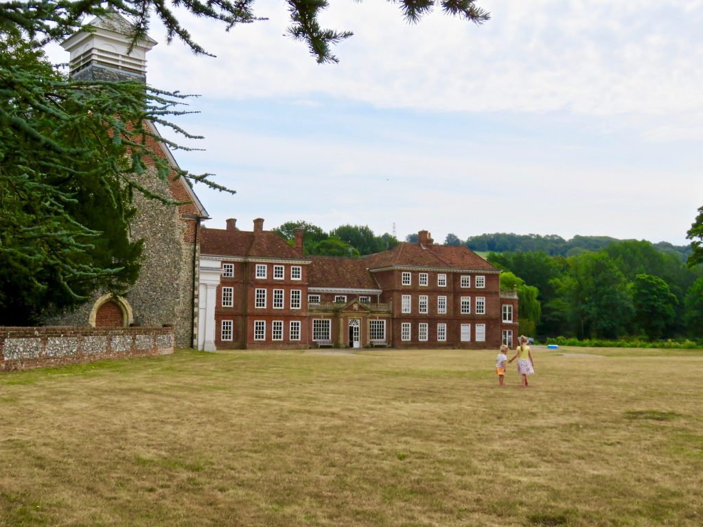Lullingstone Castle and The World Garden Manor House and church