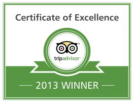 TripAdvisor Certificate of Excellence Winner - The Wellwood Restaurant