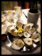 Oysters on the Half Shell Maryland