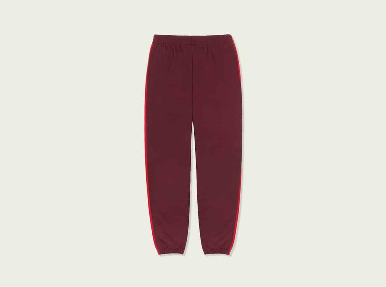 Kanye West x adidas CALABASAS Track Pants Maroon CV7905