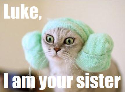 luke, I am your sister
