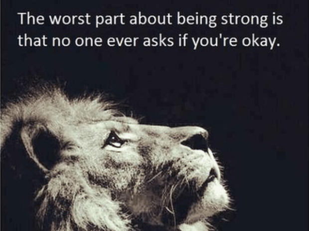 lion stong quote
