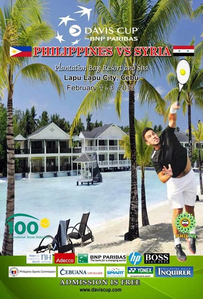 Davis Cup Tennis Event Cebu 2013