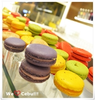 Waterfront Cebu's French Macaron and other Yummy Desserts