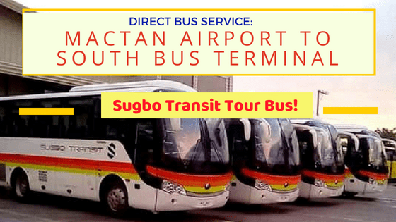 bus service mactan airport to south bus terminal