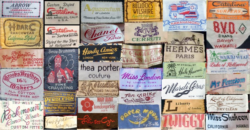 The art of clothing labels      Art