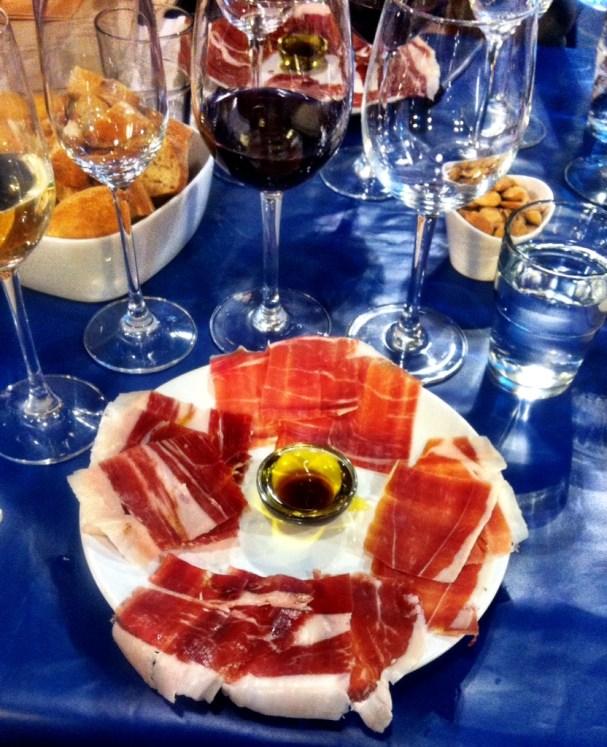 WE LOVE FOOD ITS ALL WE EAT Brindisa Ham & Campo Viejo wine workshop1