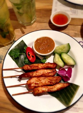 Ekachai | Liverpool Street | Satay | We Love Food, It's All We Eat