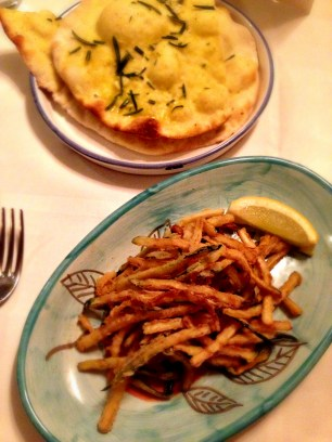 Zucchine Fritte or courgette fries to you and me!