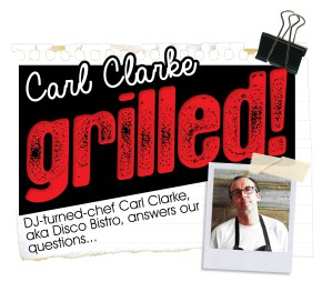 CARL CLARKE | GRILLED | WE LOVE FOOD, IT'S ALL WE EAT