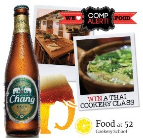 CHANG BEER COMP | FOOD AT 52 | WE LOVE FOOD, IT'S ALL WE EAT.