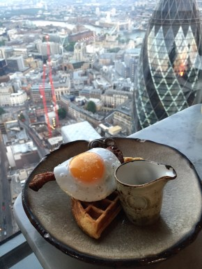 DUCK AND WAFFLE | HERON TOWER | WE LOVE FOOD, IT'S ALL WE EAT