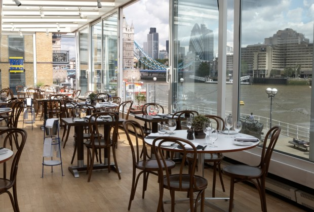 BLUEPRINT CAFE LONDON | THE DESIGN MUSEUM LONDON | WE LOVE FOOD, IT'S ALL WE EAT