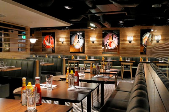 ALL STAR LANES BOWLING | BAYSWATER | INTERIOR | WE LOVE FOOD, IT'S ALL WE EAT